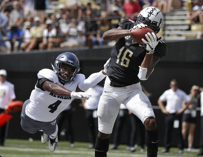 Vanderbilt's offense clicks in 41-10 win over Nevada