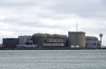 The Pickering Nuclear Generating Station, in Pickering, Ontario is seen Sunday, Jan. 12, 2020. An alert warning Ontario residents of an unspecified