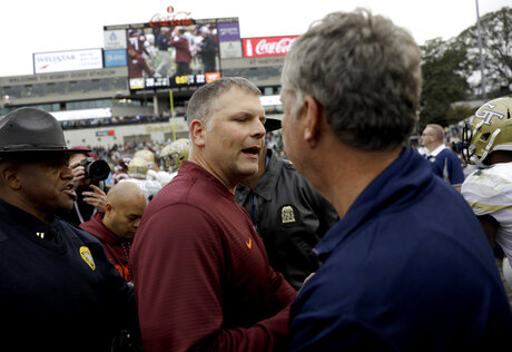 Justin Fuente, Paul Johnson