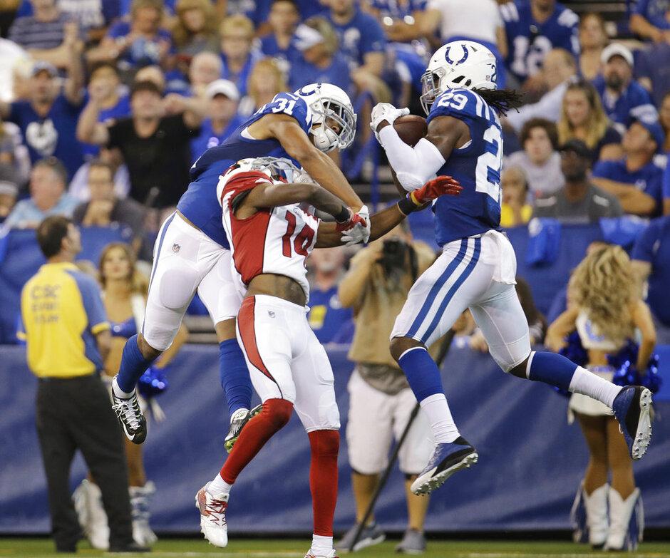 Colts-Young Defense Football