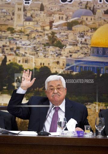 CORRECTION Israel Palestinians