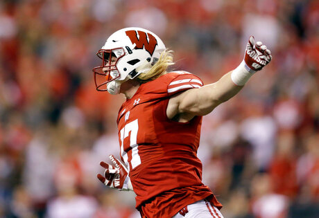 Wisconsin-Linebackers Football