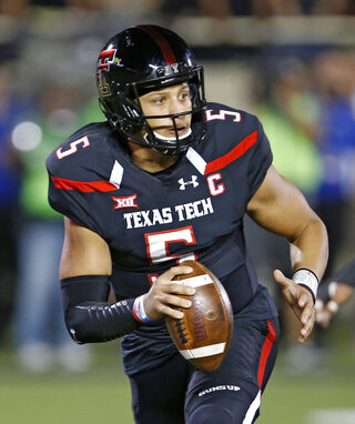 Oklahoma Texas Tech Football