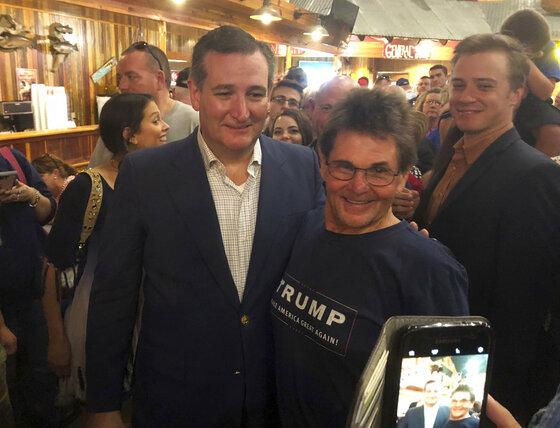 Trump Cruz Odd Couple