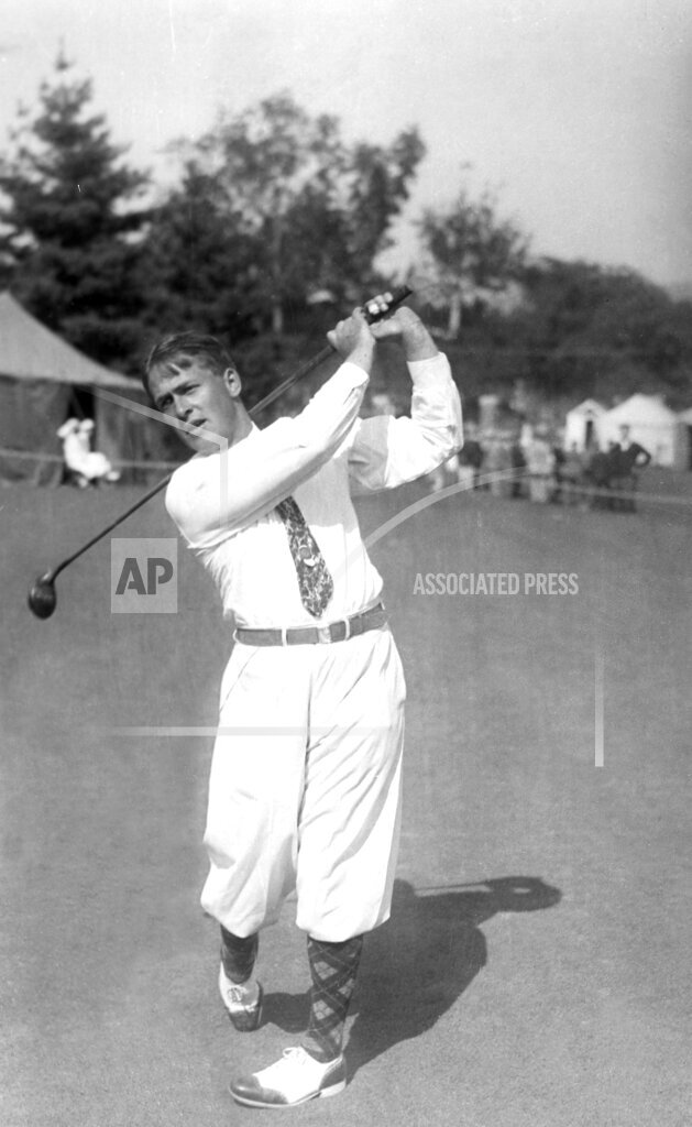 Associated Press Sports Golf BOBBY JONES