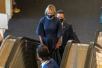 American Ambassador to the United Nations Kelly Craft arrives for the 75th session of the United Nations General Assembly, Tuesday, Sept. 22, 2020, at U.N. headquarters. This year's annual gathering of world leaders at U.N. headquarters will be almost entirely