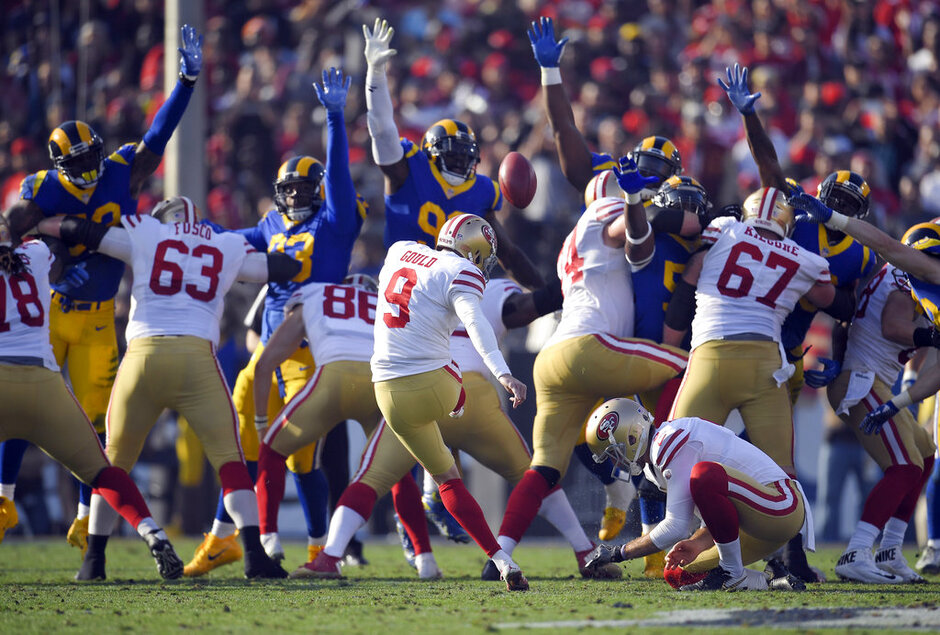 APTOPIX 49ers Rams Football