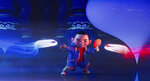 This image released by Netflix shows animated character Chin, voiced by Robert G. Chiu, in a scene from