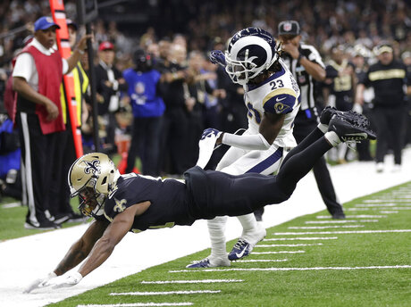 Rams Saints Football