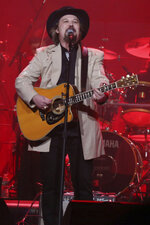FILE - In this Feb. 8, 2017 file photo, Travis Tritt performs at