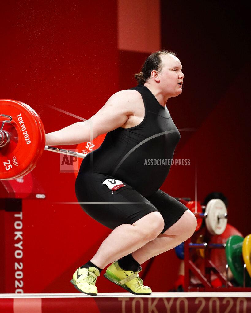 Olympics Tokyo 2020: Weightlifting