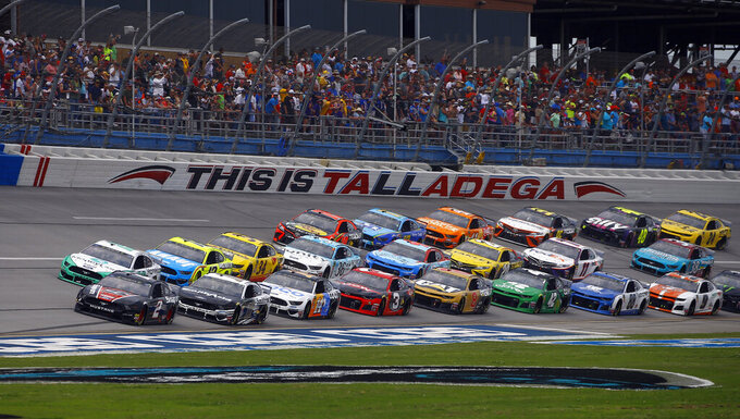Column: Larson rolled but Talladega delivered for NASCAR