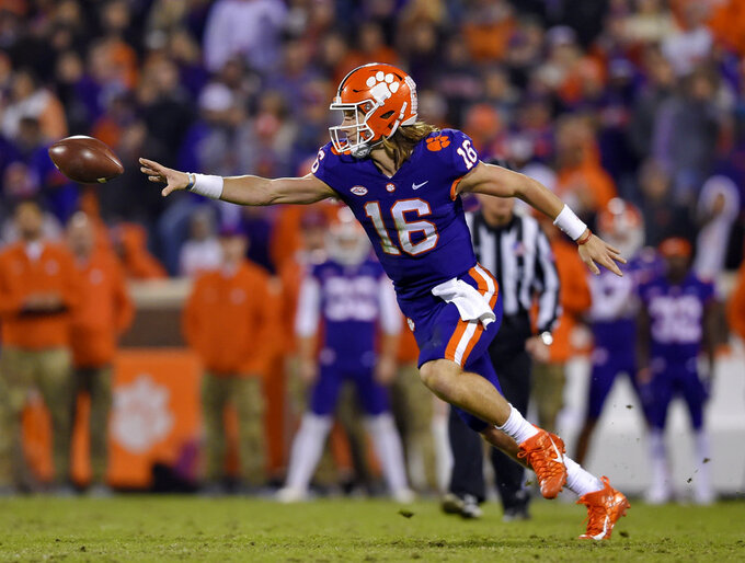 No. 2 Clemson, South Carolina QBs hope for rivalry impact
