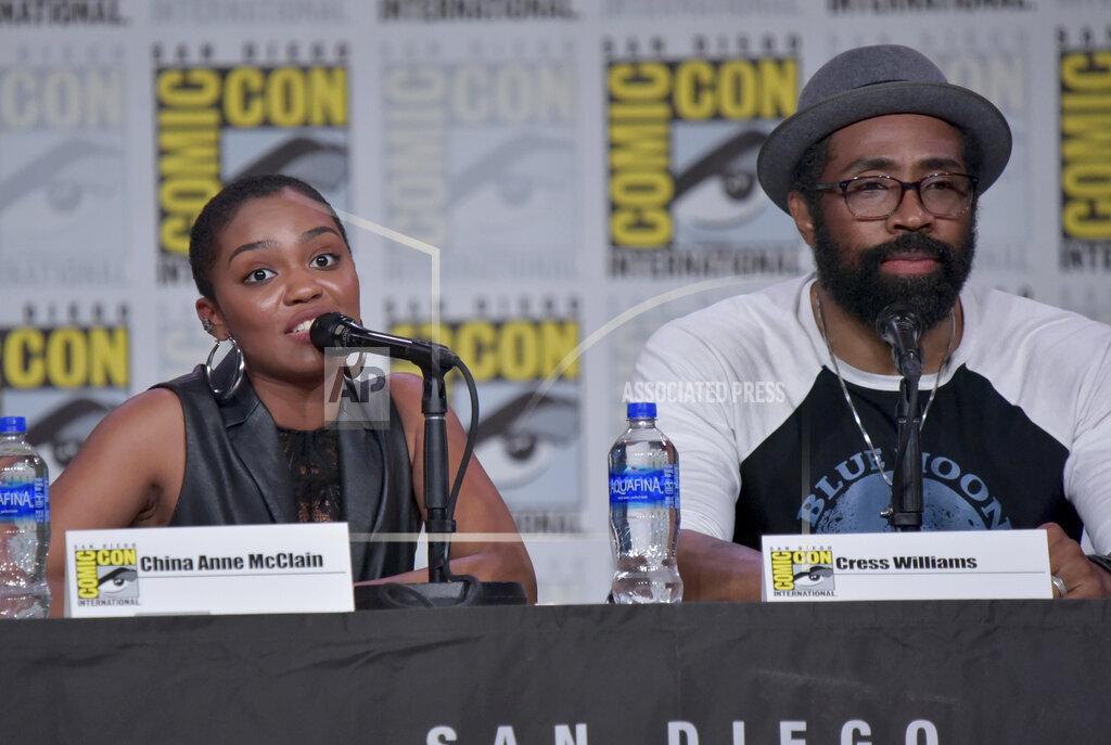 "2019 Comic-Con - ""Black Lightning"" Panel"