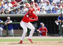Phillies Harper Hurt Baseball