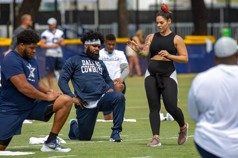 Yoga In The NFL Football