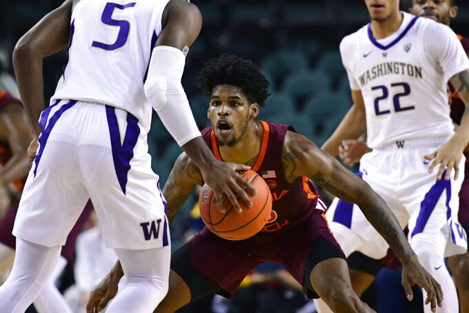 Virginia Tech Hokies at Washington Huskies 12/15/2018
