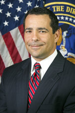 This image provided by the Director of National Intelligence, shows William Evanina, the government's chief counterintelligence officer. Evanina said Monday, Feb. 10, 2020, that he was concerned Russia or other foreign adversaries could exploit the chaos of the Iowa caucuses to sow distrust in the integrity of America's elections. (Director of National Intelligence via AP)
