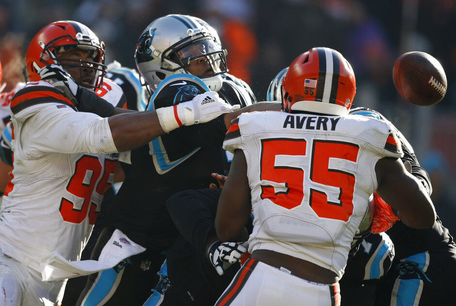 Panthers Browns Football