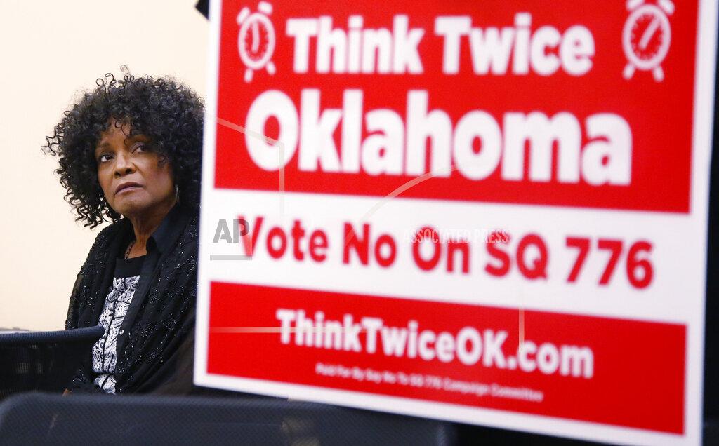 Oklahoma Election Legislative Referrals