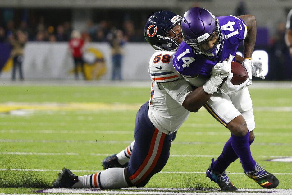 APTOPIX Bears Vikings Football