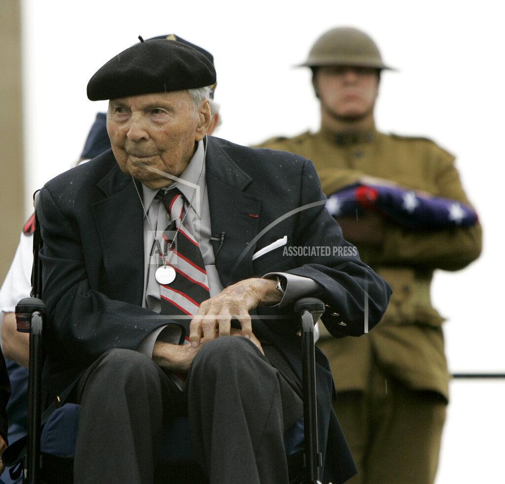 APTOPIX Memorial Day WWI Survivor