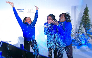 Nigerian Women Bobsled Olympics