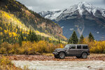 This photo provided by Fiat Chrysler Automobiles shows the 2018 Jeep Wrangler. The Jeep Wrangler is an off-road-focused SUV that offers a manual transmission for buyers who want to shift their own gears. (Courtesy of Fiat Chrysler Automobiles North America via AP)