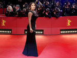FILE - Salma Hayek-Pinault arrives at the red carpet for
