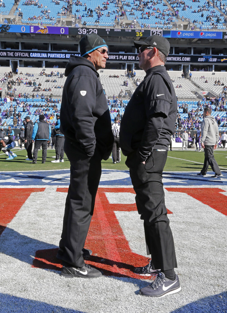 Ron Rivera, Mike Zimmer