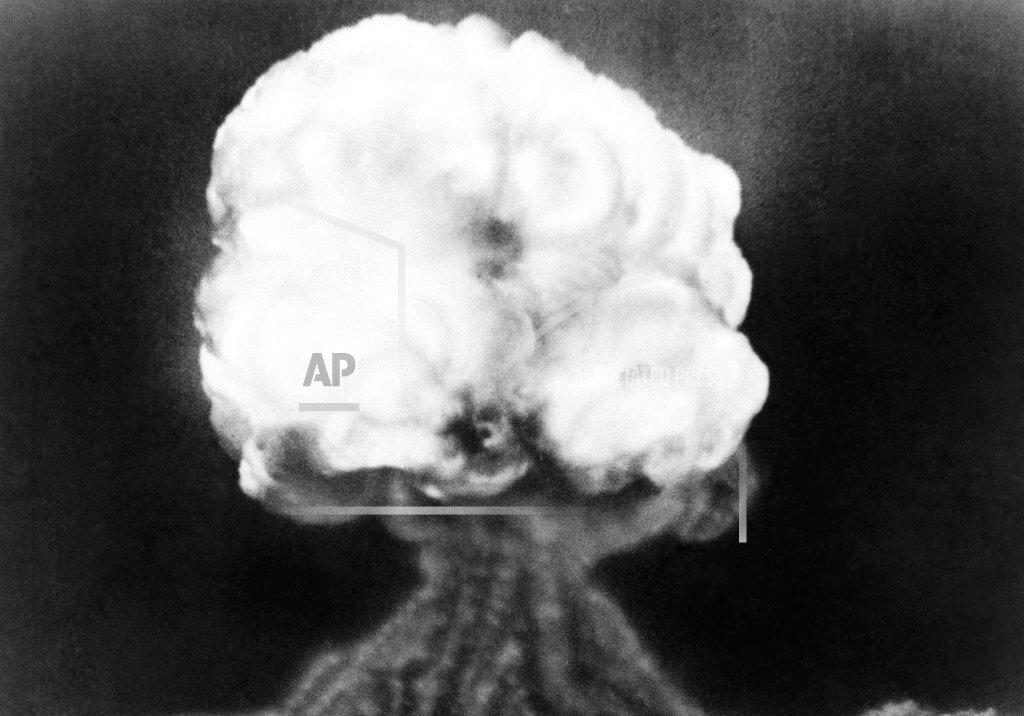 Atomic Bomb Test-Hispanic Village