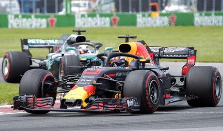 Canada F1 GP Auto Racing
