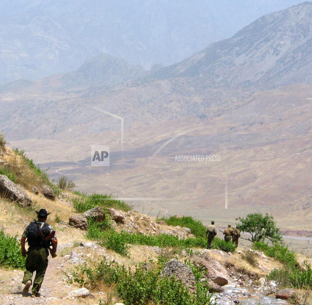 Associated Press International News TAJ TAJIKISTAN LETHAL TRAFFIC