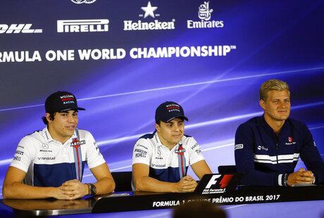Lance Stroll, Felipe Massa, Marcus Ericsson