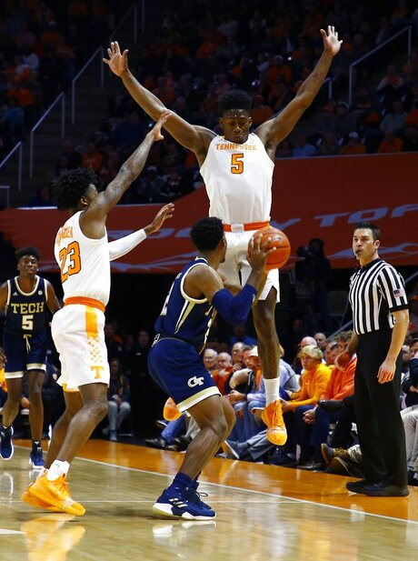 Georgia Tech Tennessee Basketball