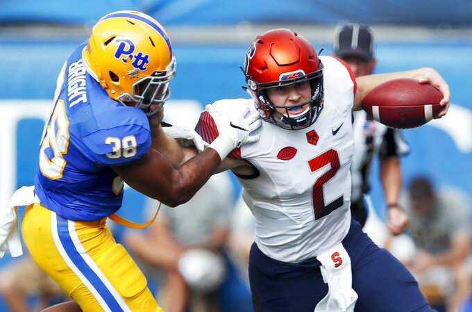 Midway through season Syracuse 2 wins from bowl-eligibility