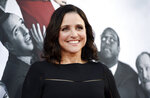 FILE - In this May 25, 2017, file photo, Julia Louis-Dreyfus, a cast member in the HBO series