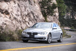 This photo provided by BMW shows the 2018 BMW 340i xDrive, a luxury sedan that offers a manual transmission as a no-cost option. Among its strengths, the 340i xDrive has all-wheel drive, which increases all-weather capability. (Chris Tedesco/Courtesy BMW of North America via AP)