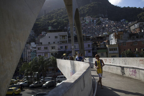 Rio Olympics Surfing in Slums
