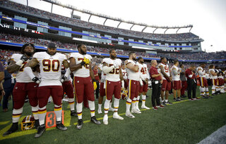 Redskins Patriots Football