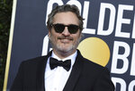 Joaquin Phoenix arrives at the 77th annual Golden Globe Awards at the Beverly Hilton Hotel on Sunday, Jan. 5, 2020, in Beverly Hills, Calif. (Photo by Jordan Strauss/Invision/AP)