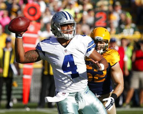 Cowboys Packers Football