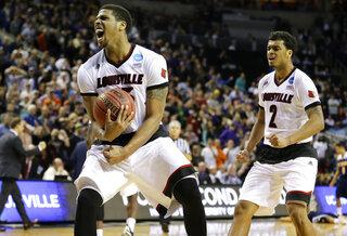 NCAA UC Irvine Louisville Basketball