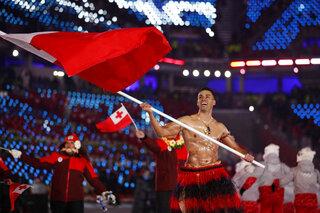 Pyeongchang Olympics Tonga-Taufatofua