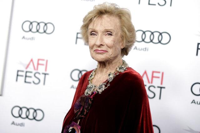 FILE - Cloris Leachman attends the premiere of