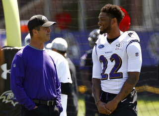 John Harbaugh, Jimmy Smith