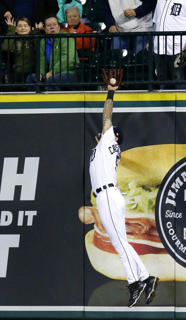 APTOPIX Astros Tigers Baseball