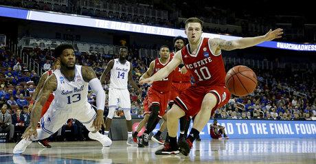 APTOPIX NCAA NC State Seton Hall Basketball