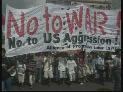 Philippines Anti war-War