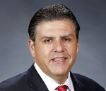 This undated photo provided by California State University shows Dr. Joseph Castro, who was announced as the new chancellor of the CSU system on Wednesday, Sept. 23, 2020,, making him the first Mexican-American and native Californian to lead the nation's largest four-year public university system. A seasoned university administrator, Castro, 53, has been president of CSU Fresno since 2013 and previously held leadership positions in the University of California system.  (California State University via AP)